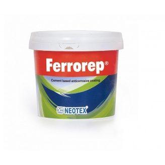 Антикоррозийное покрытие Ferrorep на основе цемента для арматуры уп 4 кг