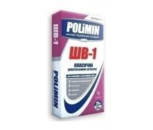 Штукатурка Polimin Классическая ШВ-1 25 кг