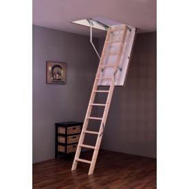 Горищні сходи Tradition 120х70 см Minka дерев`яна з утепленим люком
