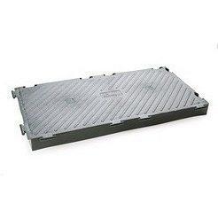 Модульное теплоизолирующее покрытие Ecoteck HEAT ICE 311,7х616х54,7 мм металлик