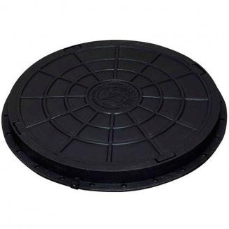 Люк садовий пластмасовий легкий 740х70 мм чорний