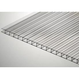 Стільниковий полікарбонат Placarb 6000х2100х4 мм прозорий