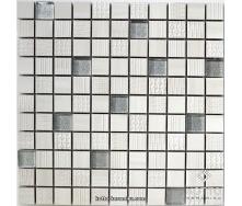 Декоративная мозаика Котто Керамика CM 3043 C2 CREAM SILVER 300x300x8 мм