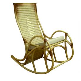 Крісло-гойдалка Каприз ЧФЛИ з ротанга 680х730х910 мм