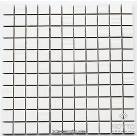 Керамическая мозаика Котто Керамика CM 3002 C WHITE WHITE STR 300x300x10 мм