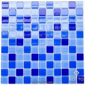 Стеклянная мозаика Котто Керамика GM 4023 C3 COBALT D COBALT M COBALT W 300х300х4 мм