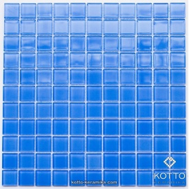 Стеклянная мозаика Котто Керамика GM 4046 C COBALT W 300х300х4 мм