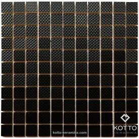 Керамическая мозаика Котто Керамика CM 3014 C BLACK 300x300x11 мм