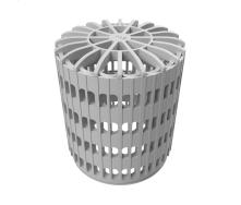 Уловлювач листя TOPWET 10х15 мм