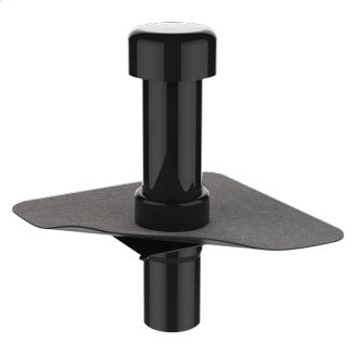 Вентиляционный выход для канализационных стояков с приваренным битумным фартуком