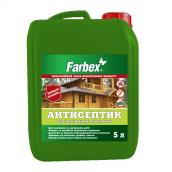 Антисептик для деревянных поверхностей FARBEX Прозрачный 1 л