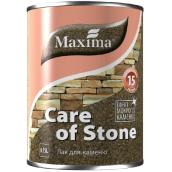 Лак для камня быстросохнущий Care of stone MAXIMA бесцветный матовый 0,75 л