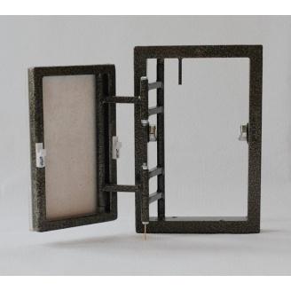 Ревизионный люк-невидимка 20х30 см с дверцей 133х244 мм