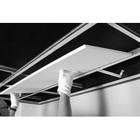 Акустическая панель Danoline Belgravia круглые отверстия 6/15 2,88 м2/упак 600x600x12,5 мм