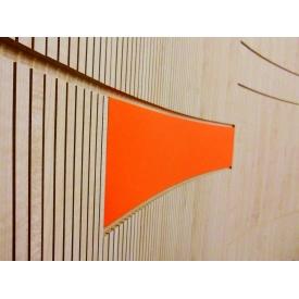 Акустическая панель декоративная 4 akustik МДФ искусственный шпон венге дуб тик клен