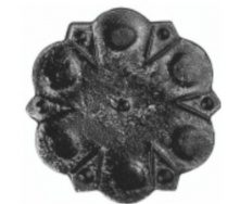 П'ята кована металева 110х110х4 мм (44.034)