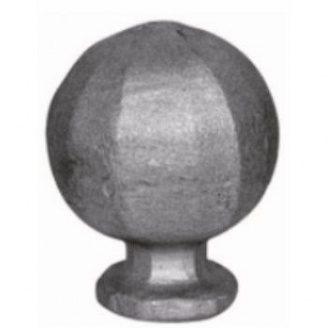 Верхушка кованная металлическая 70 мм (42.013)