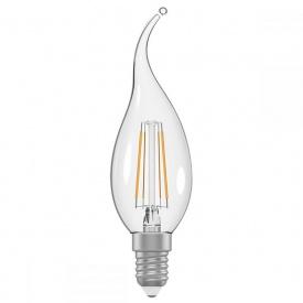 Светодиодная лампа Electrum C37 5W GL LC-32/4F Е14 3000 Rf на ветру (A-LC-1389)