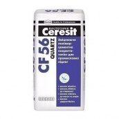 Зміцнюючі полімерцементні покриття-топінг Ceresit CF 56 Quartz 25 кг сірий