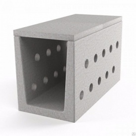 Блок дренажного міжшпального лотка БМЛ-0.7