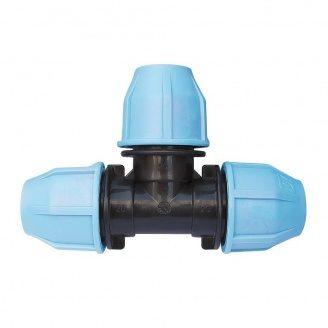 Тройник VS Plast 20x20x20 мм соединительный