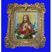 Картина из гипса-икона Кр/007 55х49 см