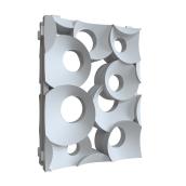 Гипсовая 3D-перегородка типа Кольца-пара