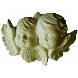 Ангелы из гипсовой лепнины Де/096 25х35х5 см