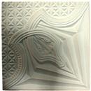 Лепной декор из гипса Де/115 37х37 см