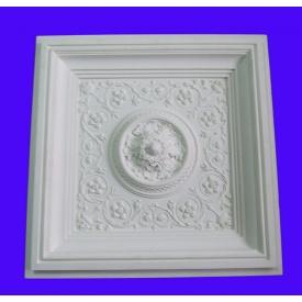 Потолочная плита из гипса Р/022 60,5х60,5х8 см