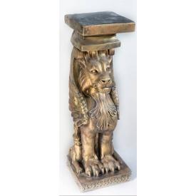 Гипсовая скульптура Лев Ст/017 80х27х27 см