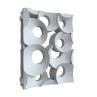 Гіпсова 3D-перегородка типу Кільця-пара