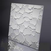 Гипсовые панели «Кора» 3D/09 50х50х2 см