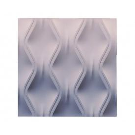 3D гіпсові панелі 3D/17 50х50х2,5 см