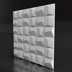Гіпсові панелі «Cliff» 3D/01 50х50х2,5 см