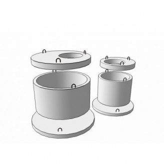 Плита перекриття колодязя 2ПП 15-1