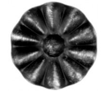 Кованые орнаменты растений 60х60 мм (50.017)
