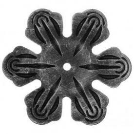 Кованый элемент цветок 63х63 мм (50.026)