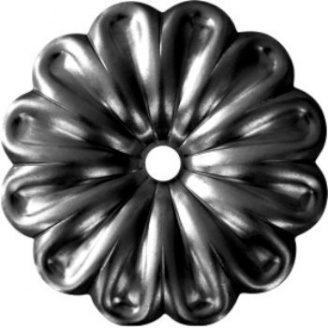 Кованый цветок 97х97х12мм (50.011)
