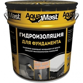 Мастика гидроизоляционная Аквамаст фундамент 10 кг