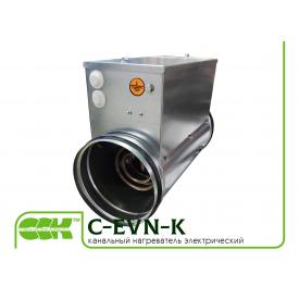 Електричний нагрівач повітря канальний C-EVN-K-100-1,2