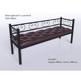 Тримісний диванчик Грін-Трик Tenero 1800х500 мм