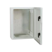 Електрощит з АВС з непрозорою дверцятами 210x280x130 мм