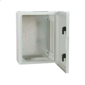 Электрощит из АВС с непрозрачной дверцей 210x280x130 мм