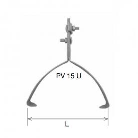 Коньковый держатель 220 мм нержавейка IN KovoFlex