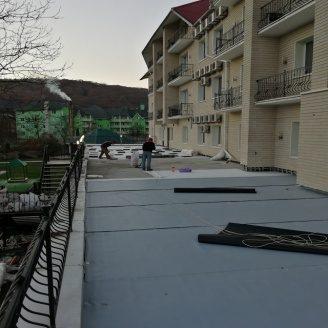Гідроізоляція терас мембраною пвх