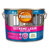 Самоочищающееся деревозащитное средство Pinotex Extreme Lasur Белый 1 л