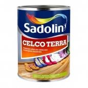 Зносостійкий лак для підлоги Sadolin Celco Terra Безбарвний 2,5 л