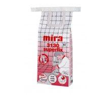 Клей для плитки и мрамора Mira 3130 superfix белый 15 кг
