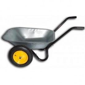 Тачка садовая BudMonster в/п-130 кг 2 пневмо колеса
